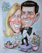 custom gift caricature by Fred Eyer