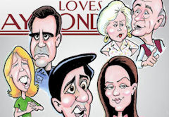 Everybody  caricature
