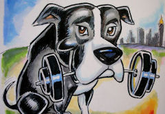 animal caricatures Colorado Springs