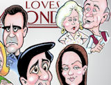 Everybody loves Raymond, Ray Romano caricature